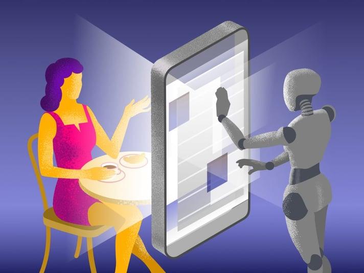 8 Grunde warum modern Onlinestores_robot